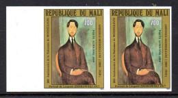 Mali A 482 Imperf Paire Modigliani - Arts