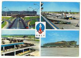 Lot Deux Cartes   Aéroports   De  Orly &  Nice1963 _1968 - Aerodromi