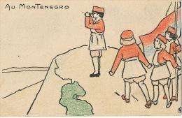 Au Montenegro Art Card Edit Française Serie GA No 32 - Montenegro