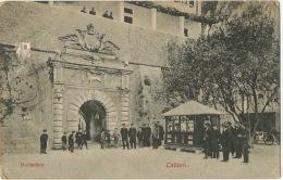 Montenegro  Cattaro Marinethor Kotor  Edit Franz Laforest Cattaro 1909 Vers Ismailia Egypt - Montenegro