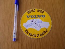 Autocollant - Automobile VOLVO  Stéréo Radio - Aufkleber