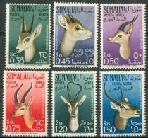 1955 Somalia Afis Antilopi Antilopes Animali Animals Animaux Set MNH** B525 - Somalia (AFIS)