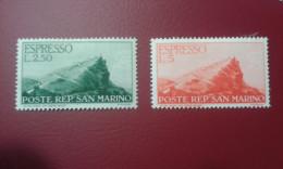 San Marino - Espressi Sass. 11-12-13-14 * - Eilpost