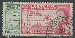 140017493  TRINIDAD  YVERT   Nº  173/5 - Trinidad Y Tobago