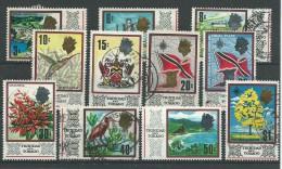 140017504  TRINIDAD  YVERT   Nº  232/234/235/236/238/239/240/241/242/243/244  USED/MH/MNH - Trinidad Y Tobago