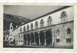 HRVATSKA DUBROVNIK RAGUSA ,KNEZAEV DVOR COLONNATI COLONNE    Vintage Old Photo Postcard - Croatie