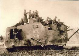 Militaria Panzer Tank Replica - Guerre 1914-18