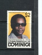 DOMINIQUE - Y&T n� 590** - Premier ministre Patrick John