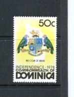 DOMINIQUE - Y&T n� 589** - Armoiries