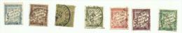 France  Taxe N°28 à 31, 33, 37, 38 Cote 4.80 Euros - Postage Due