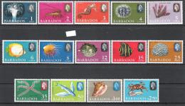 Barbados 1965 Marine Definitives MNH CV £16.70 - Barbades (...-1966)
