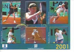 CP FFT - Filles France 2001 - Tennis