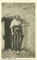 LYBIE TRIPOLI   MABRUCCA  IN  ALLESA TYPE DE FEMME  EDIZ. F. SABBATINI NON ECRITE - Libye