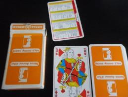 jeu de 32 cartes � jouer  - JEANNE d'ARC  - BIERES BRASSERIES