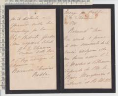 lettera da firenze per radda siena dalla baronessa sonnino radda