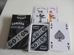 jeu de 52 cartes � jouer  - GORDON BIERES BRASSERIES