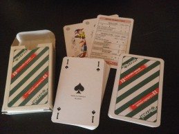 jeu de 52 cartes � jouer  - OBERNAI  BIERES BRASSERIES