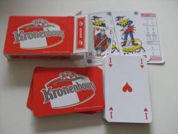 jeu de 52 cartes � jouer  - KRONENBOURG  BIERES BRASSERIES