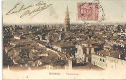 MODENA - ITALIE - CPA COLORISEE D'un PANORAMA - 160814 - - Modena