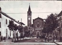 Muggiò, Piazza Della Chiesa Anni 50 - Italy