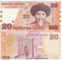 Kyrgyzstan - 20 Som 2002 AUNC Lemberg-Zp - Kirghizistan