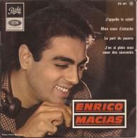 ENRICO MACIAS : 4 Titres - Discos De Vinilo