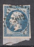 PROMO Empire N° 14 B Obl PC 4012 Bureau Français De SALONIQUE, Turquie, INDICE 16,  TB - 1853-1860 Napoleone III