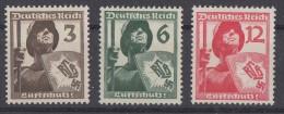 DR Minr.643-645 Postfrisch - Ungebraucht