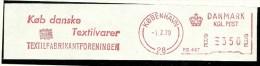 Nice Cut Meter Danmark Kob Danske Textilvarer, Textilfabrikantforeningen , Kobenhavn 1-2-1979 Buy Danish Textil - Textile