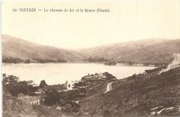 MATADI - CONGO - E Chemin De Fer Et Le Fleuve - VAN - - Autres