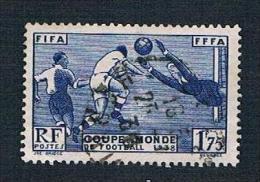1938 1F75c World Cup Football SG 612 Yv 396 - France