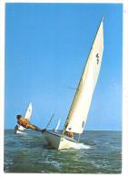 Bords De Mer - VOILIERS - (Cliché Yves Lacour - Combier Impr. Macon - CIM) - Voile
