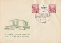 DDR Brief Zdr Minr.W Zd 22 - Briefe U. Dokumente
