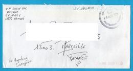 """SARAJEVO EX-YOUGOSLAVIE 1994 ENVELOPPE CACHET """"UNITED NATIONS / PROTECTION FORCE"""" - Cachets Militaires A Partir De 1900 (hors Guerres)"""