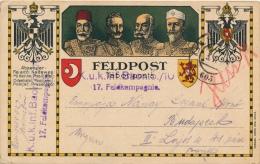 POLEN - FELDPOST 1916    - LOOK 2 SCANS