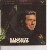 GILBERT BECAUD - Vinyles