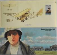 FRANCE - BLOC SOUVENIR 2010 - Format 95 X 205 Mm - N° 49 - Elise Deroche Avec La Carte - Parfait état - - Souvenir Blocks & Sheetlets