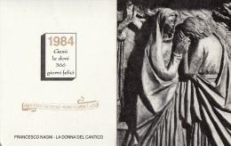 CALENDARIETTO 1984 - Formato Piccolo : 1981-90