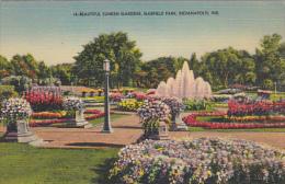 Sunken Gardens Garfield Park Indianapolis Indiana