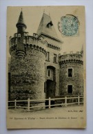 03 - Tours D'entrée Du  Chateau De BUSSET -environs De VICHY - Sonstige Gemeinden