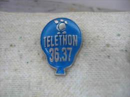 Pin�s Mongolfiere Teleton 36.37