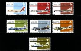 MALTA - 1984  AIR  SET  MINT NH - Malta
