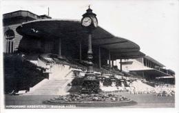 HYPODROMO ARGENTINO - BUENES AIRES, Fotokarte Gel.1935 Nach Roth Germany - Argentinien