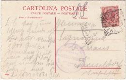 Italien 1909? - Sonderstempel Auf Ak Venezia - Scala DelPallazo Minelli - 1900-44 Victor Emmanuel III.