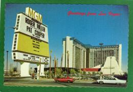 Nevada - MGM Grand Las Vegas  H�tel   CPM  ann�e 1980  Belles Voitures