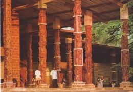 AFRIQUE,GABON,LIBREVILLE,   Ancienne  Colonie Française,l´église Saint Michel N ´ Kembo,façade,piliers Sculptés,rare - Gabon