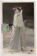 FEMME ARTISTE . DE LEKA . ACTRICE DE THÉÂTRE . PHOTO STEBBING - Réf. N°2039 - - Femmes