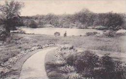 Massachusetts Andover Rabbit Pond Andover Inn Garden Albertype
