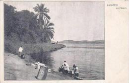 Belgian Congo Lavaderes Au Fleuve - Belgian Congo - Other