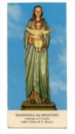 Crissolo - Santino MADONNA DEL MONVISO (Chiesa Di San Rocco) - OTTIMO G80 - Religion & Esotericism